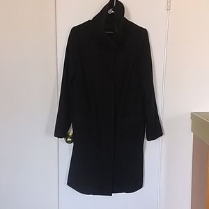 Black Club Monaco Wool/Cashmere coat